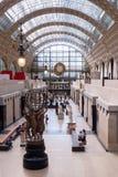 Лобби Musee D'Orsay стоковые изображения