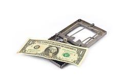 Ловушка денег стоковые фотографии rf
