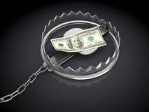 Ловушка денег Стоковое Изображение