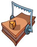 Ловушка мыши с сыром, иллюстрацией вектора иллюстрация вектора