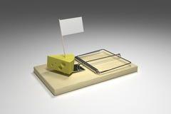 ловушка мыши иллюстрация вектора