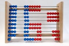 Логарифмическая линейка, показывая цифр 6 Стоковая Фотография