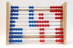 Логарифмическая линейка, показывая цифр 4 Стоковые Фото