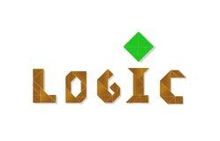 Логика - формат cdr иллюстрация вектора
