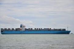 Логистический корабль стоковая фотография rf