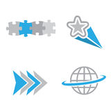 логосы компании Стоковые Изображения RF