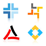 логосы логоса иллюстрация штока
