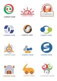 логосы элементов конструкции компании Стоковые Изображения RF