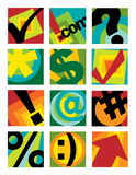 логосы 1 собрания дела Стоковое Фото