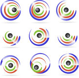 логосы Стоковое Изображение
