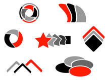 логосы Стоковая Фотография