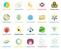 Логосы иллюстрация штока