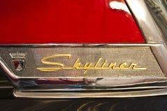 логос античного автомобиля Стоковые Изображения