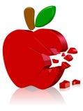 логос Апл компьютер Стоковые Фотографии RF