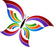 логос бабочки Стоковая Фотография RF