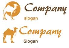 логос верблюда Стоковые Фотографии RF