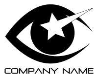 логос глаза иллюстрация штока