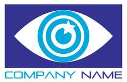логос глаза Стоковая Фотография RF