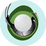 логос гольфа Стоковая Фотография RF