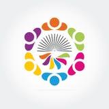 Логос дела Стоковая Фотография