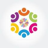 Логос дела Стоковые Фото