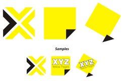 логос директории вызывает желтый цвет Стоковая Фотография