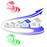 Логос дома Стоковая Фотография RF