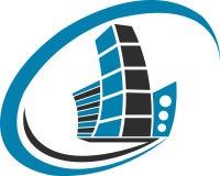 логос здания бесплатная иллюстрация
