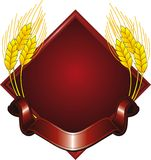 логос зерна Стоковое Фото