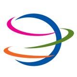 логос иконы земли Стоковые Изображения RF