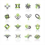 логос иконы Стоковые Изображения RF