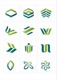 логос иконы Стоковые Фото