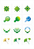 логос иконы Стоковое Фото