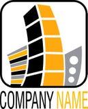 логос имущества реальный Стоковая Фотография RF