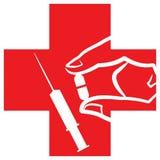 логос клиники Стоковые Фотографии RF