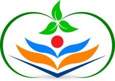 Логос книги Стоковые Фотографии RF