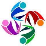 Логос команды Стоковые Фотографии RF