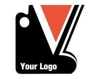 логос компании ваш Стоковое Изображение RF