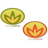 логос компании дела Стоковое Изображение RF