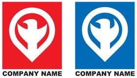 логос компании птицы стилизованный Стоковое фото RF