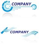логос компании самомоднейший Стоковые Фото