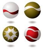логос компании 4 Стоковые Изображения
