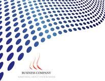 логос компании Стоковая Фотография RF