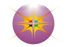 логос конструкции искусства Стоковые Изображения RF