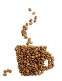 логос кофе Стоковая Фотография RF