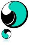 логос круглый иллюстрация штока