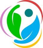 Логос листьев Стоковая Фотография
