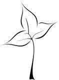 логос листьев стоковые фотографии rf