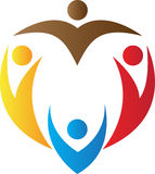 Логос людей Стоковые Изображения