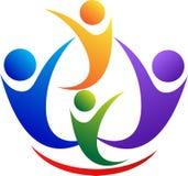 Логос людей Стоковые Фото